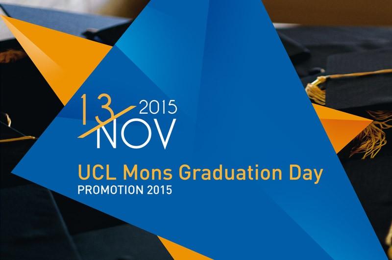 Remise des diplômes – UCL Mons
