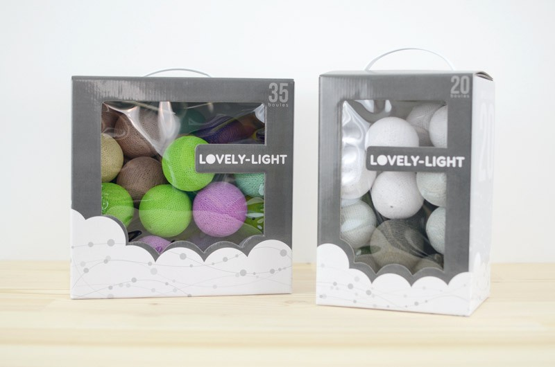 Packaging Lovely-light