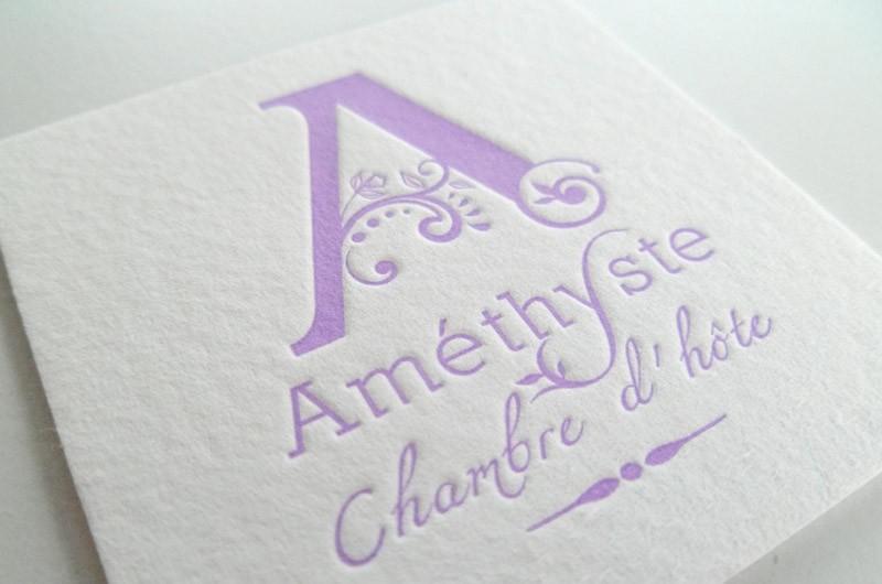 Améthyste – Chambre d'hôte